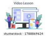 art school education online... | Shutterstock .eps vector #1788869624