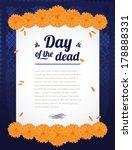 print flower day of the dead | Shutterstock .eps vector #178888331