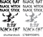 Black Bat Black Witch Black...