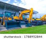 Modern Excavators At Kyiv ...