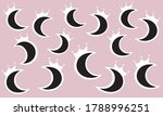 vector abstract fancy surface... | Shutterstock .eps vector #1788996251