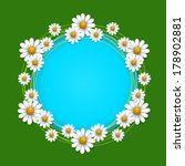 summer background with daisy ... | Shutterstock .eps vector #178902881