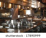 restaurant kitchen in napa... | Shutterstock . vector #17890999