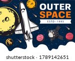 Outer Space With Vector...