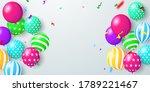balloons concept design...   Shutterstock .eps vector #1789221467