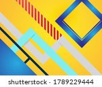 colorful abstract background... | Shutterstock .eps vector #1789229444