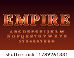 decorative kingdom font and... | Shutterstock .eps vector #1789261331