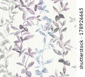 fresh spring flowers seamless... | Shutterstock . vector #178926665