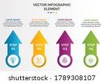 creative business infographic...   Shutterstock .eps vector #1789308107