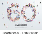 large group of people form to...   Shutterstock .eps vector #1789340804