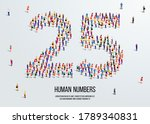 large group of people form to...   Shutterstock .eps vector #1789340831