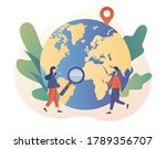 world map. geography concept.... | Shutterstock .eps vector #1789356707