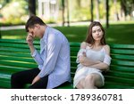 Frustrated Young Couple Having...