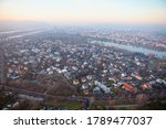 Aerial View Of Vienna In The...