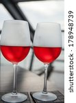wine glasses on the background... | Shutterstock . vector #178948739
