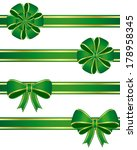 green bows. vector available.   Shutterstock . vector #178958345