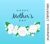 happy mother's day greeting...   Shutterstock .eps vector #1789597484