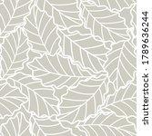 seamless gray abstract... | Shutterstock .eps vector #1789636244