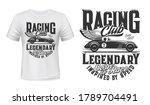 Vintage Racing Car T Shirt...