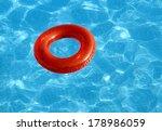 Swimming Pool And Lifebuoy