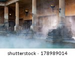 Mist Rising Off The Hot Spa...