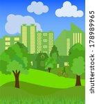 symbols of urban lifestyles.... | Shutterstock .eps vector #178989965