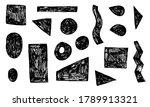 Hand Drawn Black Geometric...