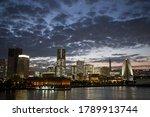 Beautiful Sunset Of Yokohama...