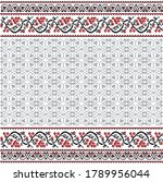 pixel art pattern background... | Shutterstock .eps vector #1789956044
