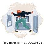 cartoon vector illustration of... | Shutterstock .eps vector #1790010521