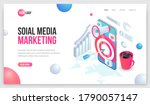 digital marketing landing.... | Shutterstock .eps vector #1790057147