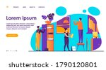 handyman working at customer...   Shutterstock .eps vector #1790120801