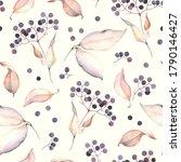 watercolor seamless pattern... | Shutterstock . vector #1790146427