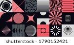 retro future inspired artwork... | Shutterstock .eps vector #1790152421