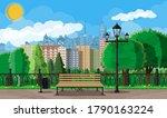 City Park Concept. Urban Fores...