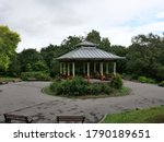 Open Sided Bandstand Red And...
