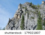 cliffs on the banks of the...   Shutterstock . vector #179021807