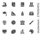 science   education vector... | Shutterstock .eps vector #1790324951