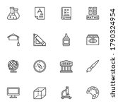 science   education line icons... | Shutterstock .eps vector #1790324954