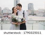 Romantic And Happy Caucasian...