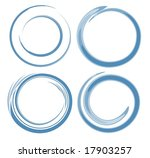 abstract style circle | Shutterstock . vector #17903257