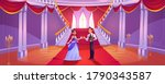 prince and princess in royal... | Shutterstock .eps vector #1790343587