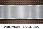 background of bronze perforated ... | Shutterstock .eps vector #1790370827
