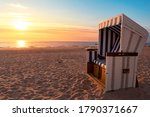 Sylt Island Beach Scenery With...