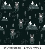 vector scandinavian pattern....