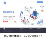 coaching isometric landing page....