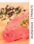 meat  pepper and herbs | Shutterstock . vector #17904673