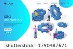 seo promotion.business...   Shutterstock .eps vector #1790487671