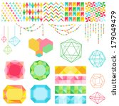 scrapbook design elements  ... | Shutterstock .eps vector #179049479