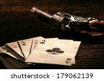 Постер, плакат: American West Legend poker